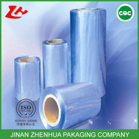 blue cling film stretch roll cast plastic wrap cover colored plastic film