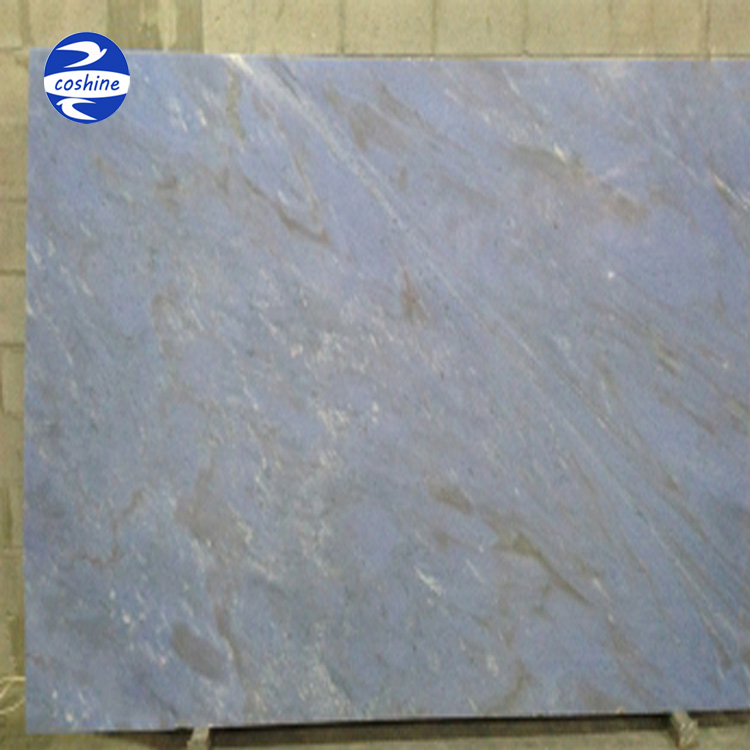 Popular gemstone backlight sky blue onyx marble stone slab price for wall decoration