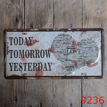 Custom design Wall art Decoration metal sign vintage