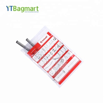YTBagmart PE Heavy Duty Industrial Plastic Flat Bottom Ziplock Bag