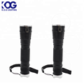 LED zoom flashlight Fluorescence switch SMD torch lights