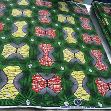Printed Pattern and Woven Technics african wax fabric textile