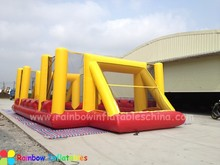 Inflatable Human Table hand Soccer/ Human Foosball Games for 10 people