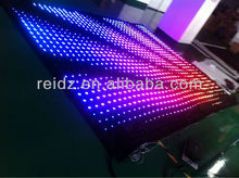 PC/SD card controller soft led curtain screen for celebration like Christmas etc