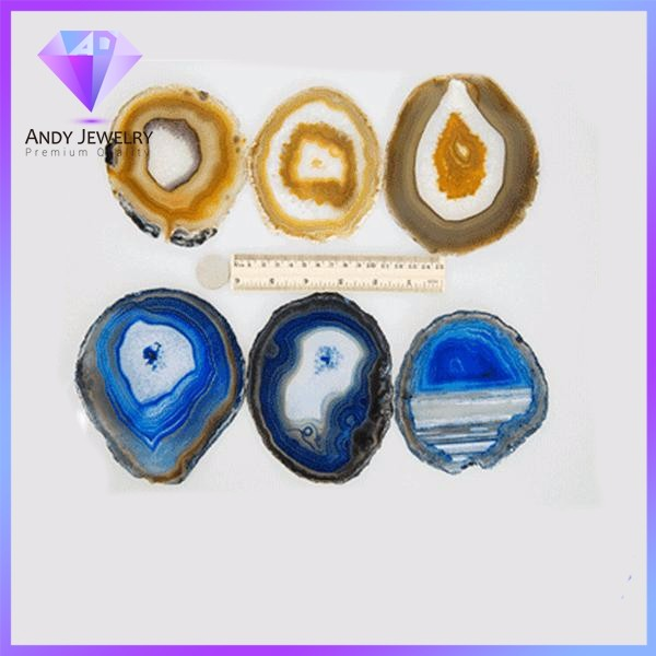 wholesale dyed nature agate slice