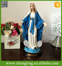 Beautiful exquisite Our Lady of Grace Virgin Mary catholic religious statues