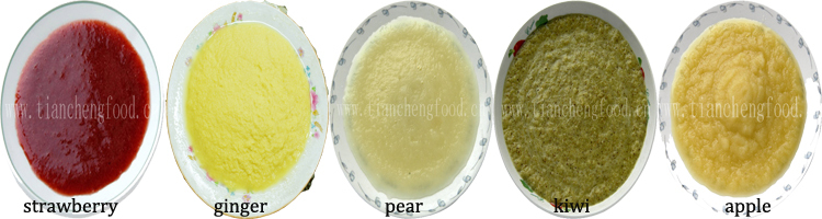 Wholesale Variouse Frozen Fruit Puree