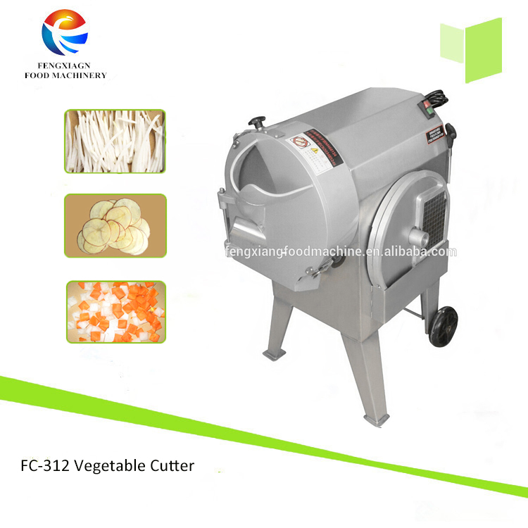 FC-312 Multifunctional vegetable cutting machine, potato chips making machine,onion cutting machine