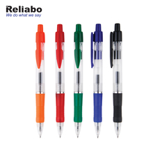 Reliabo Stationery Manufactures Custom Logo Promotional Plastic Ballpoint Transparent Pen