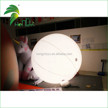 event floating LED inflatable advertising balloon