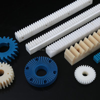 high precision customized moulding injection plastic derlin pom rack gear