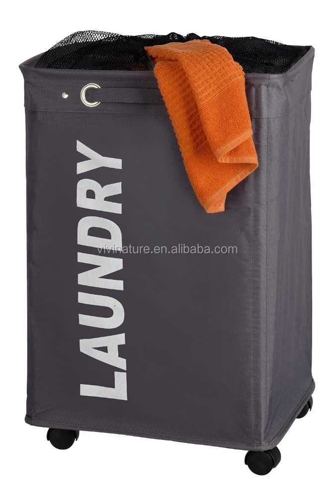 Laundry Hamper and portable laundry sorter with wheels