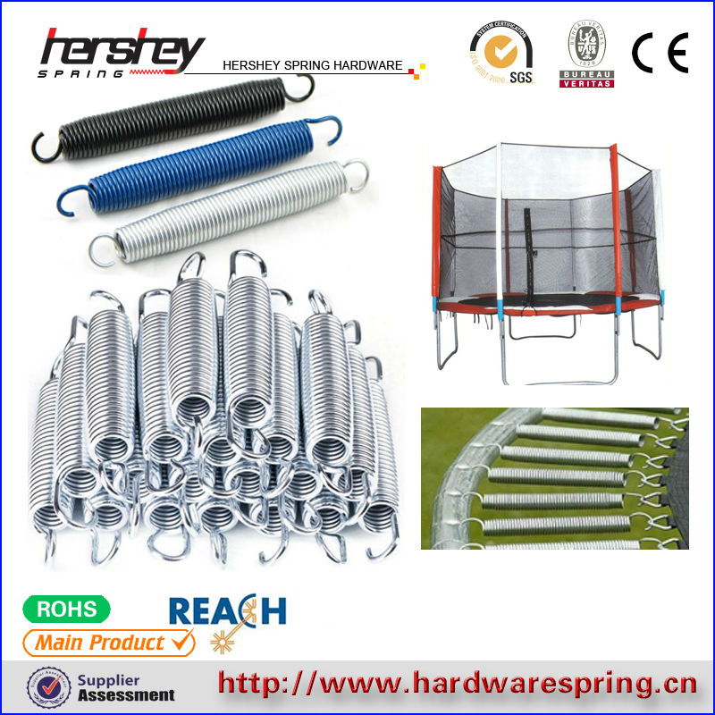 long galvanized indoor trampoline spring