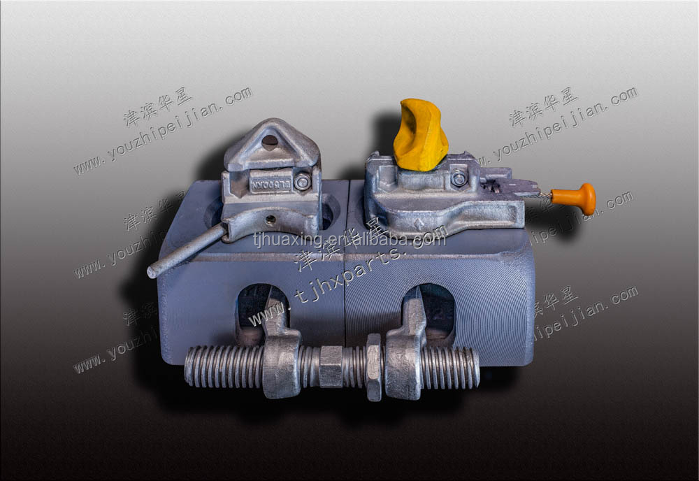 Tianjin Huaxing factory top quality Cargo container fittings bridge clamps on sale