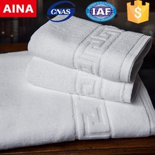 AINA Main product Soft and thick textile Wholesale hotel cotton bath towel set
