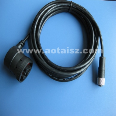 j1939 to usb 9pin cable 16pin OBD OBD2 male female Truck cable 24V