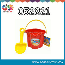 hotsales plastic sand beach bucket for children