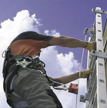 Vertical Arrest Systems - Steel Rope System with Integrated Fall Protection