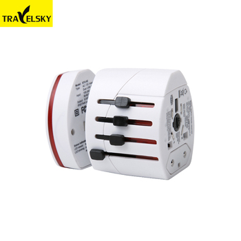 International Portable Universal World USB Travel Adapter