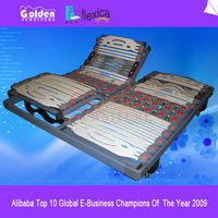 Double size electric vibrator massage bed WM-04b
