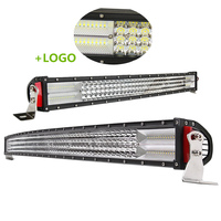 "Auto 4 Quad Row Offroad Driving Led Bar Curved 22"" 32"" 42"" 52Inch 12/24 Volt Truck Car 4X4 Led Light Bar"