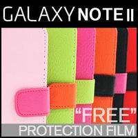 Samsung Galaxy Note2 GT-N7100 Hera PU Leather Wallet Phone Case