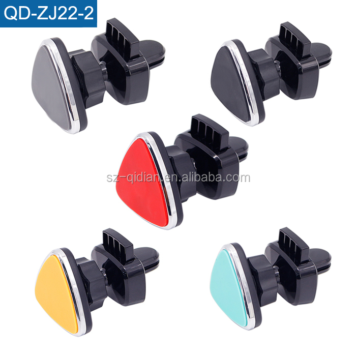 Vehicle Mounted Mobile Phone Holder Sticking 360 Degree Air Outlet Instrument Desk Universal Magnetic Mobile Phone Support