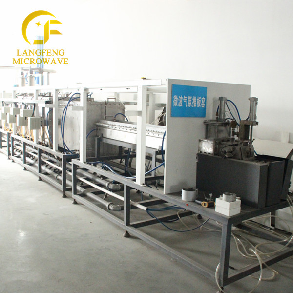 large microwave kiln,continuous carbonization furnace