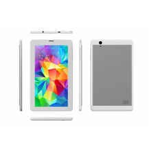 "Slim Dual SIM 8"" Inch Quad Core DDR3 1GB 1280*800 IPS Screen 3G GPS FM WIFI BT Android 4.4 Tablet PC with Metal Back Case"