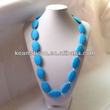 Newly Mother Jewelery /FDA approved BPa Free Chewable Silicone Teething Necklace China Wholesale