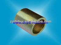 HYDRAULIC CRIMPING ISO9001-2008 SAE100R2AT/EN 853 2SN /CARBON STEEL 00210 HOSE FERRULES BY CNC MACHINE