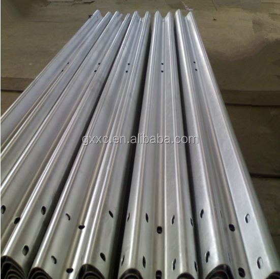 Traffic Facility Galvanized Guardrail