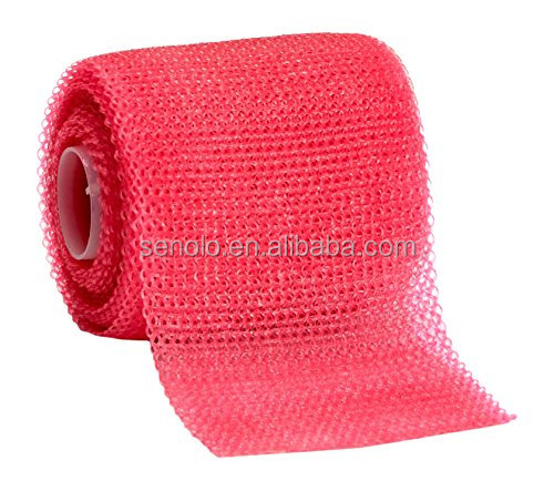Medical orthopaedic synthetic glass fiber fracture fibreglass polymer polyester casting tape bandage