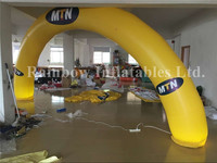 Round Shape Inflatable Archway,White Inflatable Arch For Advertisement