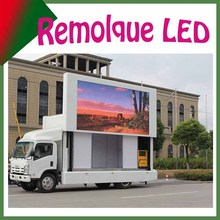 P10 truck led display scoreboard,mobile vehicle led display P10 RGB full color digital truck mobile led display