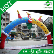 Durable outdoor event inflatable arch,halloween inflatable arch,inflatable arch tunnel
