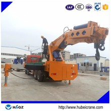 Knuckle boom truck mounted crane 160 ton mobile crane