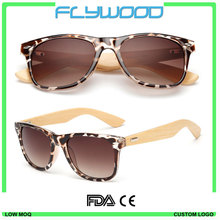 Eco-friendly handmade custom bamboo wooden sunglasses 2016 Modern design high quality top sale sunglasses