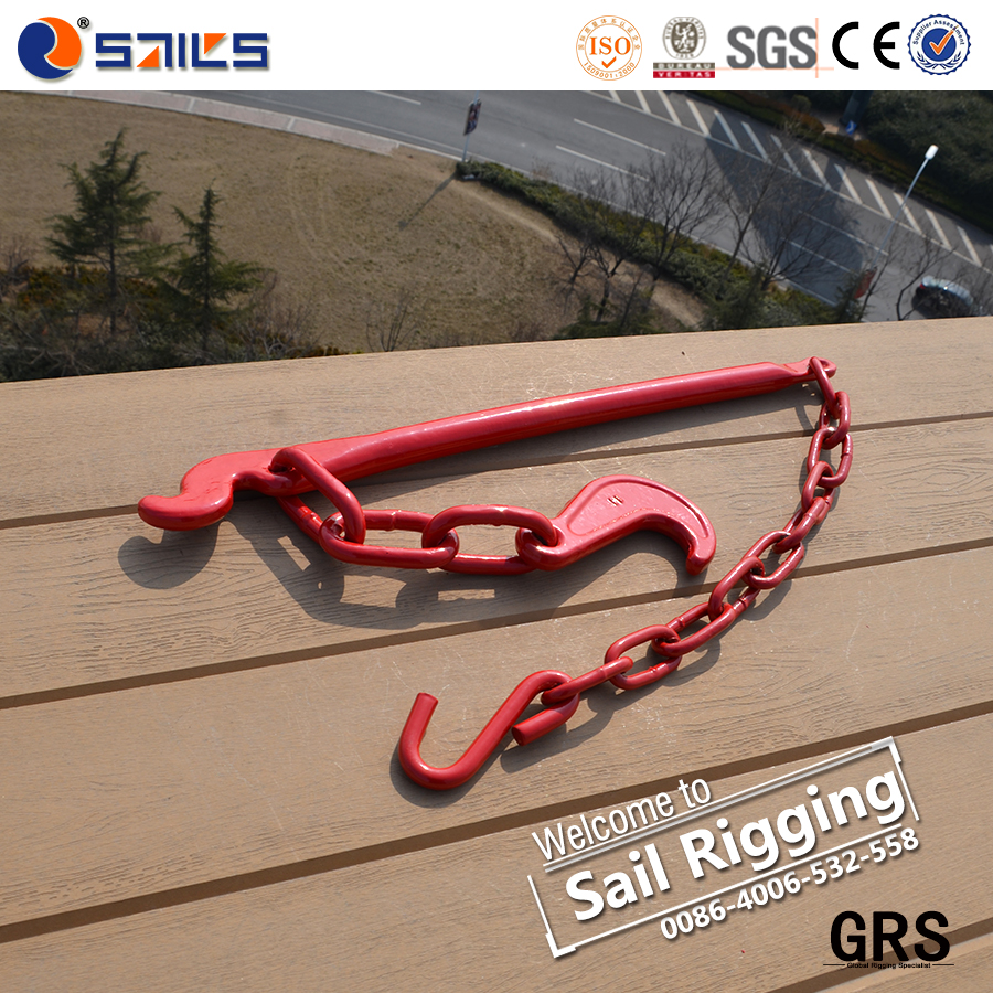 drop forged load binder lashing lever rigging for lifting