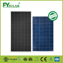 High quality good price 280W poly Solar Panel with IEC,CE,ISO,CEC for solar power system home