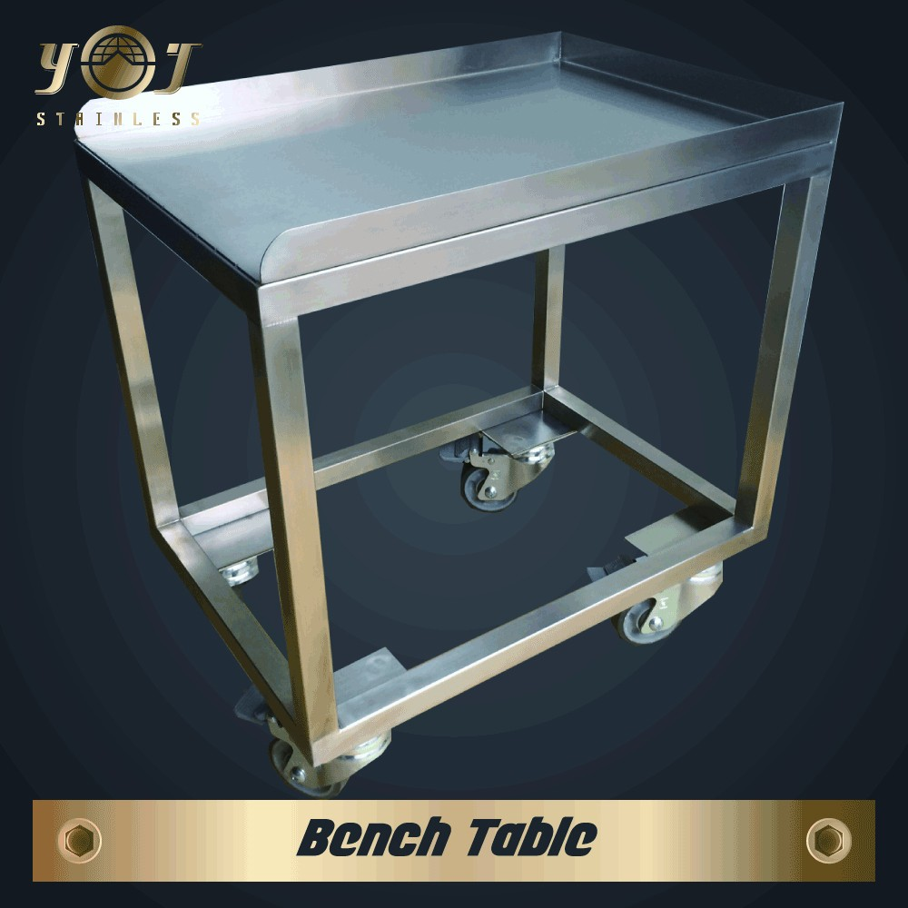 new designed mobile garage work bench table with shelf