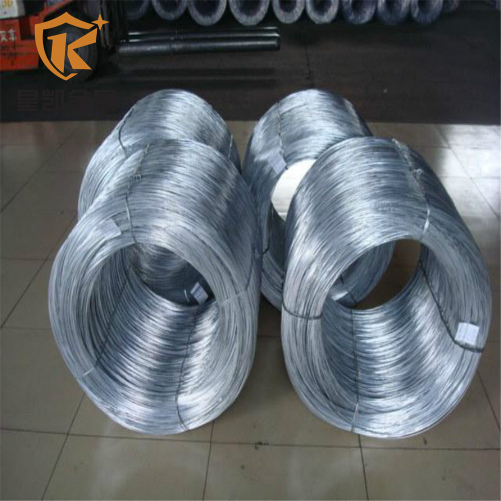 0.7mm fish trap galvanized steel wire gi wire price per kg