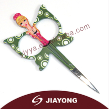 2014 popular fashional design butterfly cuticle scissors