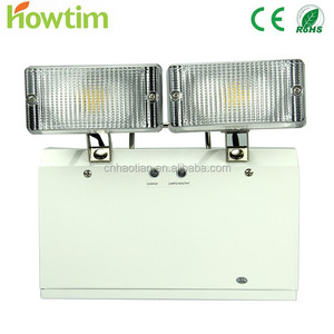 IP65 15 Led Industrial emergency lamp with two spots for fire escape