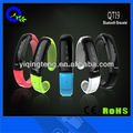 Music with speaker & earphone vibrating bluetooth watch
