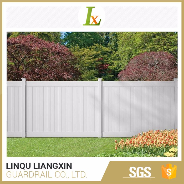 Competitive Price PVC Privacy Vinyl Fence Designs