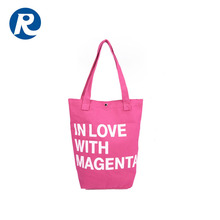 Factories Wenzhou Custom Small Cotton Canvas Tote Bag With Rope Handle