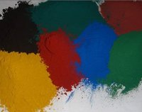 Factory price of fine powdered iron oxide red/yellow/black/brown color enhanced mulch pigments