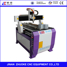 4 Axis Small CNC 6090 Wood Router Machine PCI NCStudio Control 600*900mm ZK-6090-2.2Kw