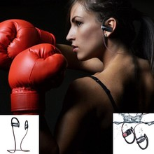 Sports Running Bluetooth V4.1 Earphones Wireless Headset with Waterproof and Power Amplifier Chip